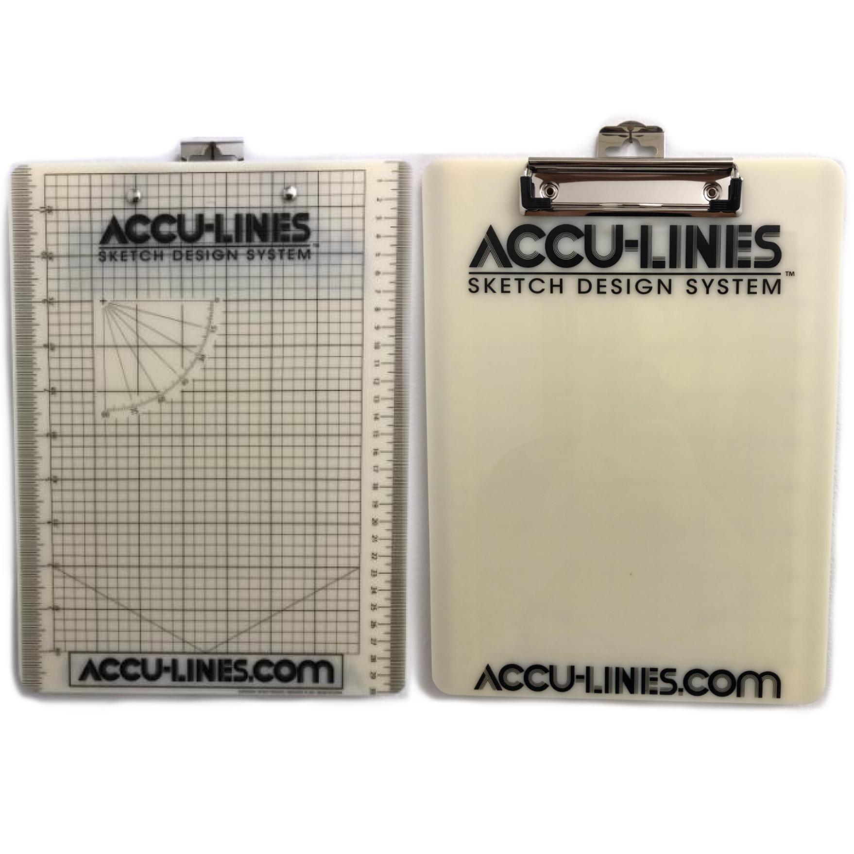 AccuLines FlipBoard Uno (Single Clip)
